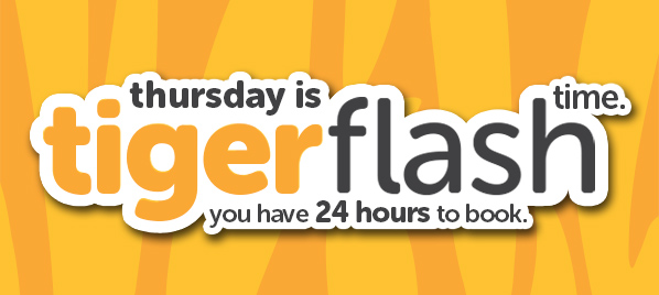 Thursday is Tigerflash Time.