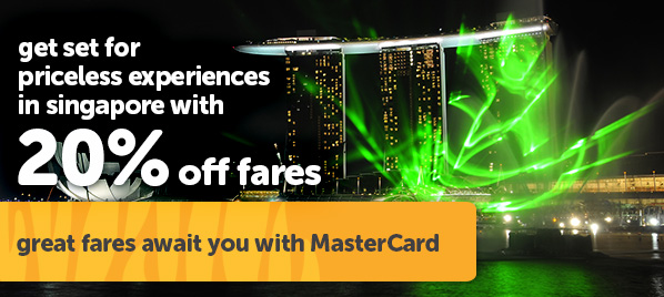 Get set for priceless experience in Singapore.